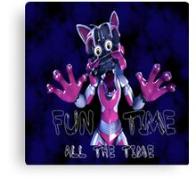 Funtime 2 Canvas Print