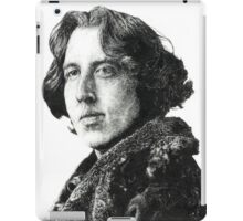 Oscar Wilde - Irish Author iPad Case/Skin