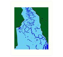 Flood Plain Art Print