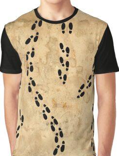 Marauders Map Footprints Graphic T-Shirt