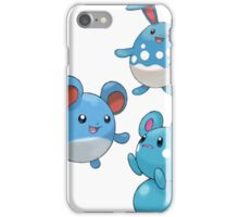 Marill Evolutions iPhone Case/Skin
