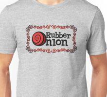 RubberOnion Logotype with Border Unisex T-Shirt