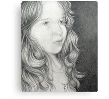 Pamela's granddaughter Canvas Print