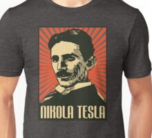 Nikola Tesla Poster Unisex T-Shirt