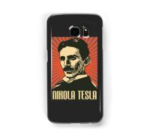Nikola Tesla Poster Samsung Galaxy Case/Skin