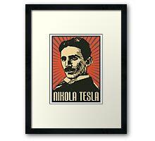 Nikola Tesla Poster Framed Print