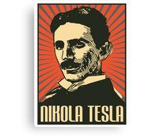 Nikola Tesla Poster Canvas Print