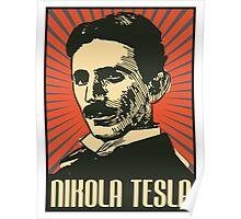 Nikola Tesla Poster Poster