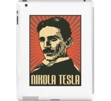 Nikola Tesla Poster iPad Case/Skin