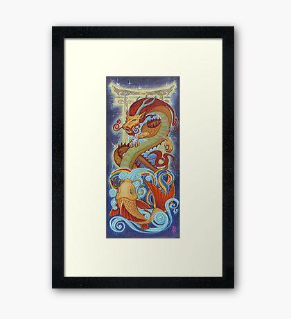 Journey's Reward Framed Print