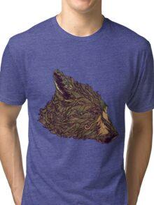 Little Bear's Head Tri-blend T-Shirt