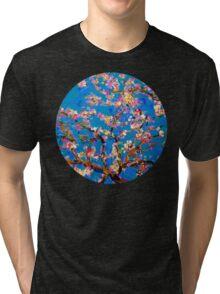 Van Gogh's Blossoms  Tri-blend T-Shirt