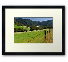 Into the Promised Land Framed Print