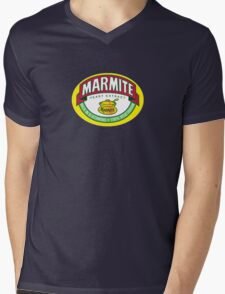 Marmite colour Mens V-Neck T-Shirt