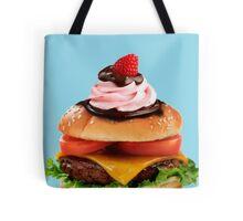 Cake Burger - Junk Food Monstrosity Tote Bag