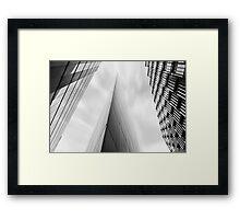 Sharp End Framed Print