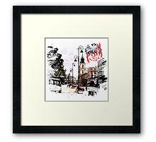Poland - Warsaw Krakowskie Przedmiescie Framed Print