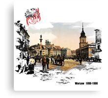 Polska - Poland - Warsaw - Warszawa Canvas Print