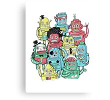 PHOTOGRAPHY MACHINE ROBOT Canvas Print