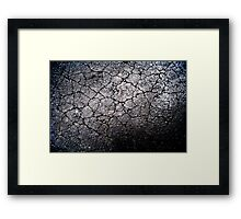 Scorched earth Framed Print