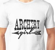 Archery Girl Unisex T-Shirt