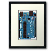 Arduino Pixel Framed Print