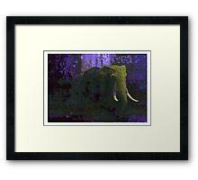 Elephant 25 Framed Print