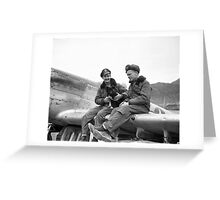 Mustang Pilots, Korean War Greeting Card