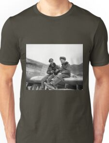 Mustang Pilots, Korean War Unisex T-Shirt