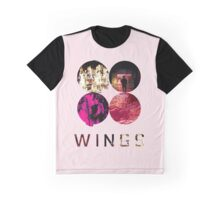 BTS Wings ~ Pink Version Graphic T-Shirt