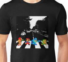 Nintendo Sprites on Abbey Road Unisex T-Shirt