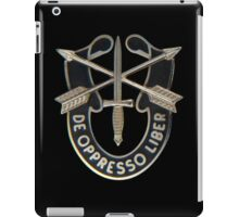 Special Forces insignia iPad Case/Skin