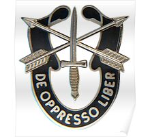 Special Forces insignia Poster
