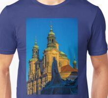 Czech Republic. Prague. Old Town Square. St.Nicholas Church. Monument to Jan Hus. Unisex T-Shirt