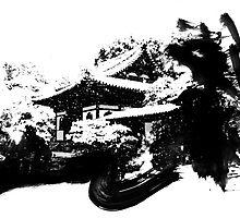 Japan Snow Kyoto by vivalarevolucio