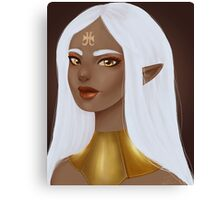 Royal Elf Canvas Print