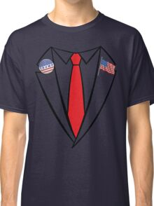 Donald Trump Suit and Tie Halloween Costume Classic T-Shirt