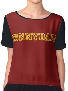 Sunnydale Gym Shirt 1 Chiffon Top