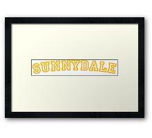 Sunnydale Gym Shirt 1 Framed Print