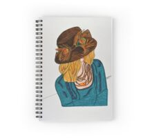 KCs Hat Spiral Notebook