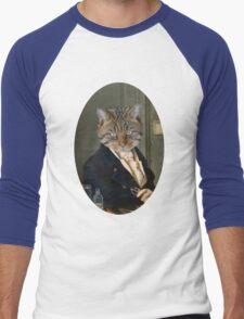 Mr. Kitten  Men's Baseball ¾ T-Shirt