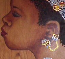 African Bride by redqueenself