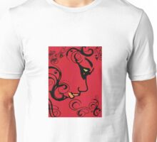 Girl in Red Unisex T-Shirt