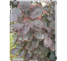 Pink lined Washington leaves  iPad Case/Skin