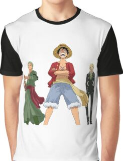 One Piece - Luffy - Zoro - Sanji Graphic T-Shirt