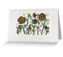 Flowers/6 - Whimsy Greeting Card