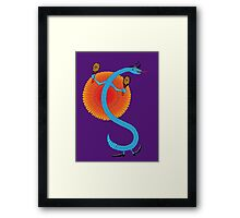 Snake, Rattle and Roll Framed Print