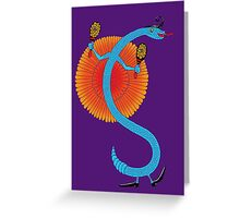 Snake, Rattle and Roll Greeting Card