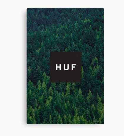 Huf Forest Logo Canvas Print