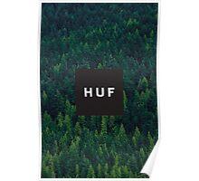 Huf Forest Logo Poster
